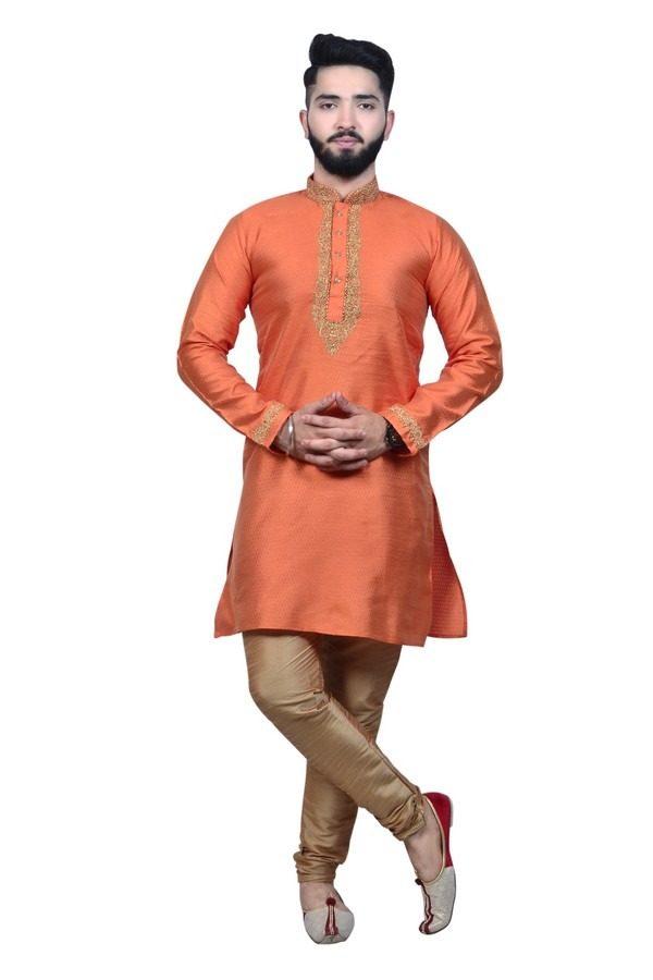 orange kurta