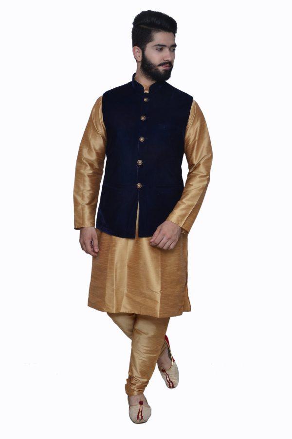 navy velvet waistcoat